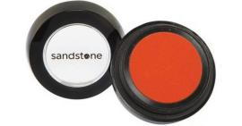 Orange eyeshadow sandstone